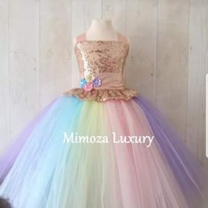 Luxury Handmade Unicorn Tutu Dress